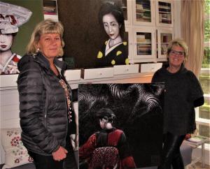 Kunstforening køber kunst af Frank Wood
