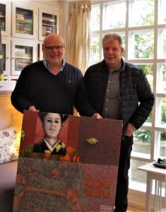 Jylland. Kunstforening køber kunst af Frank Wood